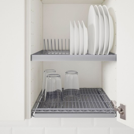 Small And Creative Dish Racks And Drainers Ideas28