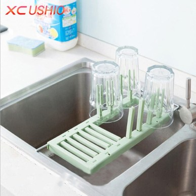 Small And Creative Dish Racks And Drainers Ideas34