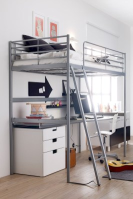 Totally Cool Tiny Apartment Loft Space Ideas 03