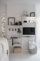 Totally Cool Tiny Apartment Loft Space Ideas 46
