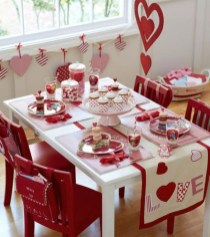 Best Ideas Decorate Dining Room Table Valentines 09