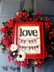 Cute Valentine Door Decoration Ideas You Should Try 13