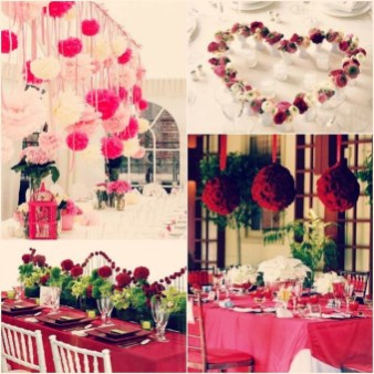Cute Valentines Day Wedding Decoration Ideas 13