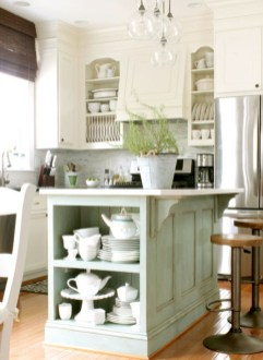 Stylish Rustic Kitchen Apartment Decoration Ideas 60