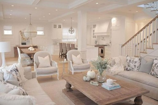Cute Shabby Chic Farmhouse Living Room Decor Ideas 32