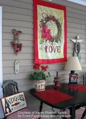 Festive Valentine Porch Decorating Ideas 09