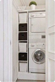 Totally Inspiring Small Functional Laundry Room Ideas 36