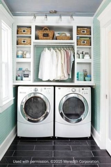 Totally Inspiring Small Functional Laundry Room Ideas 54
