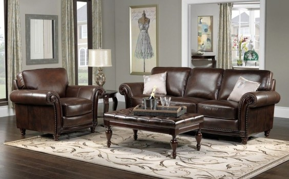 Beautiful Leather Couch Decorating Ideas For Living Room37