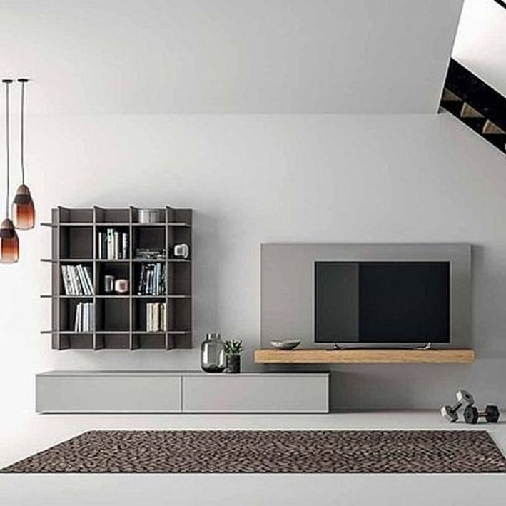 Best Ideas Modern Tv Cabinet Designs For Living Room 14