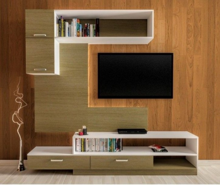 Best Ideas Modern Tv Cabinet Designs For Living Room 20