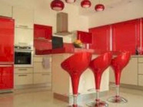 Cheap And Minimalist Red Accent Chair Dining Ideas 05
