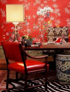 Cheap And Minimalist Red Accent Chair Dining Ideas 11