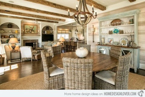 Stunning Beach Themed Dining Room Design Ideas 21