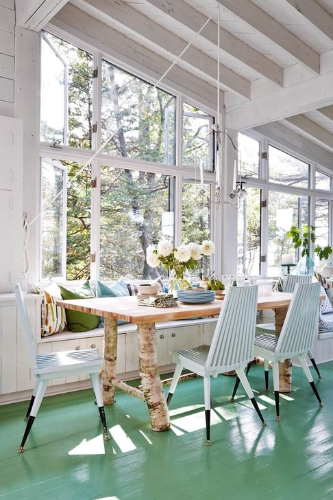 Stunning Beach Themed Dining Room Design Ideas 23