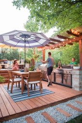 Awesome Outdoor Kitchen Design Ideas 21