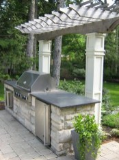 Awesome Outdoor Kitchen Design Ideas 28