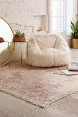 Romantic Floral Printed Rug Ideas To Beautify Your Floor34
