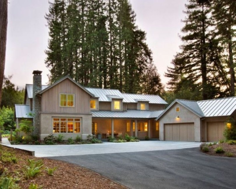 Brilliant Modern Farmhouse Exterior Design Ideas16