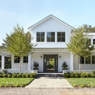 Brilliant Modern Farmhouse Exterior Design Ideas18