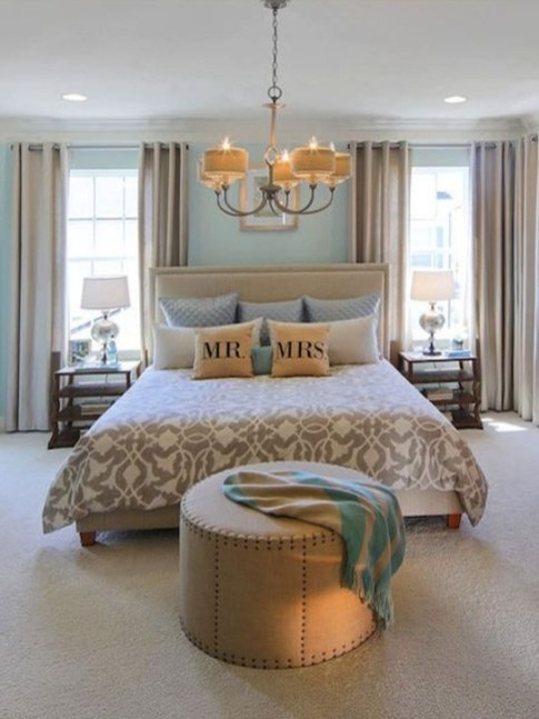 Cozy Master Bedroom Design And Decor Ideas34