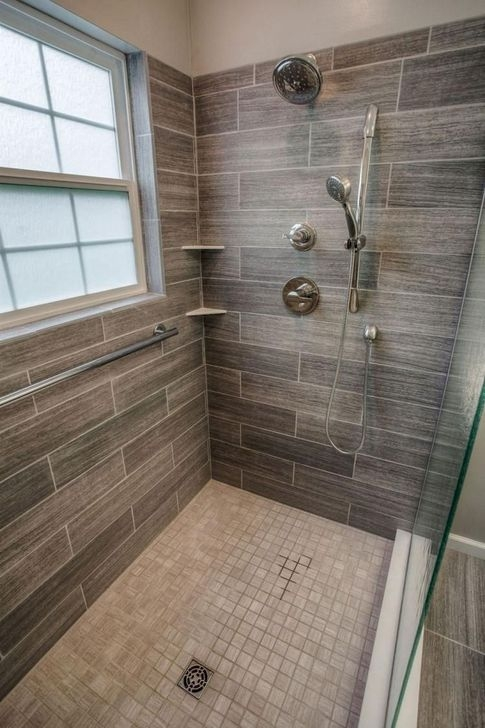 Elegant Farmhouse Shower Tiles Design Ideas33