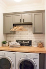 Popular Farmhouse Laundry Room Decorating Ideas42