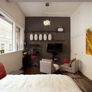 Creative Space Saving Living Room Decoration Ideas For Small Apartment28