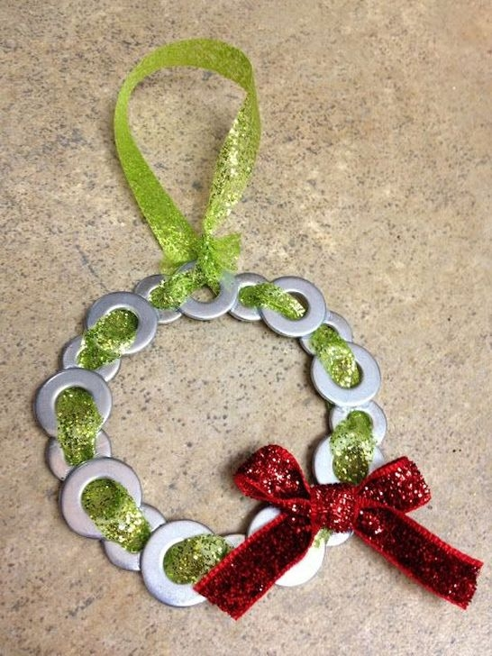 Extremely Fun Homemade Christmas Ornaments Ideas Budget04