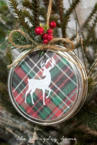 Extremely Fun Homemade Christmas Ornaments Ideas Budget12