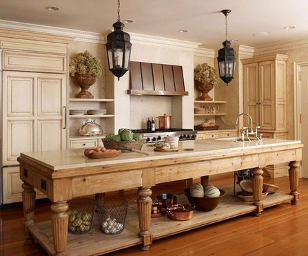 Popular French Country Kitchen Decoration Ideas For Home22