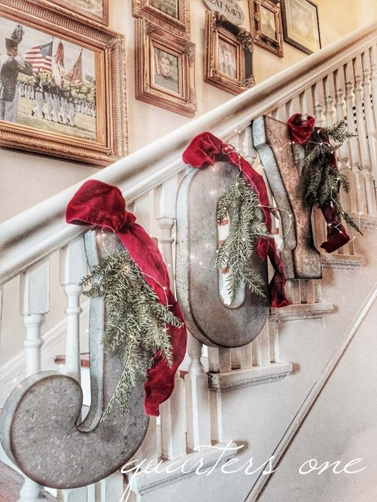 Romantic Rustic Christmas Decoration Ideas37