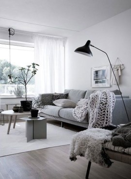 Simple Scandinavian Interior Design Ideas For Living Room06