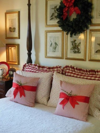 Stunning Red Christmas Pillow Design Ideas11