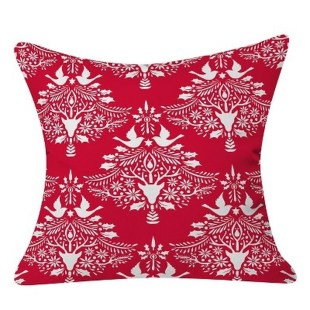Stunning Red Christmas Pillow Design Ideas26