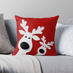 Stunning Red Christmas Pillow Design Ideas29