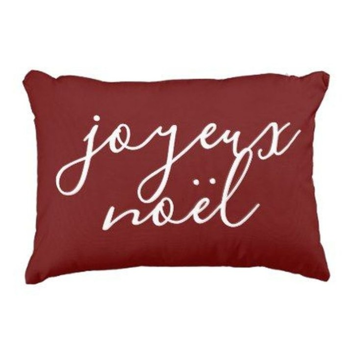 Stunning Red Christmas Pillow Design Ideas33