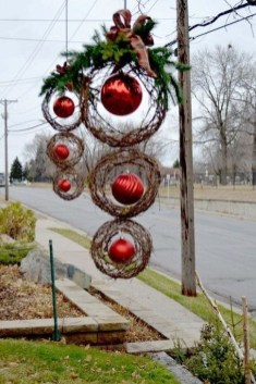 Stylish Diy Outdoor Christmas Decoration Ideas06