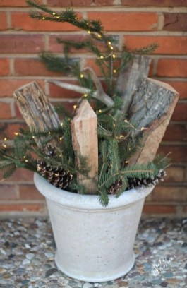 Stylish Diy Outdoor Christmas Decoration Ideas35
