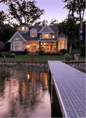 Attractive Lake House Home Design Ideas15