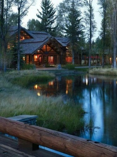 Attractive Lake House Home Design Ideas31