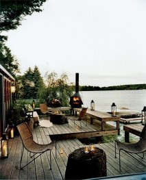 Attractive Lake House Home Design Ideas38
