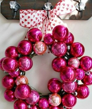 Cheap Diy Ornaments Ideas For Valentines Day40