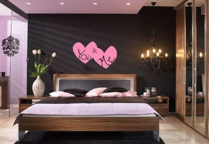 Cute Valentine Bedroom Decor Ideas For Couples40