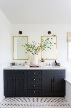 Elegant Bathroom Cabinet Remodel Ideas13