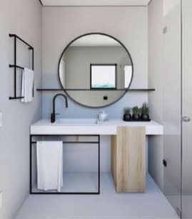 Elegant Bathroom Cabinet Remodel Ideas27