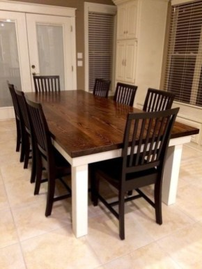 Cute Farmhouse Dining Room Table Ideas21