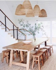 Cute Farmhouse Dining Room Table Ideas33