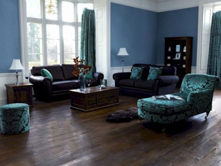 Amazing Dark Hardwood Floors Ideas For Living Room43