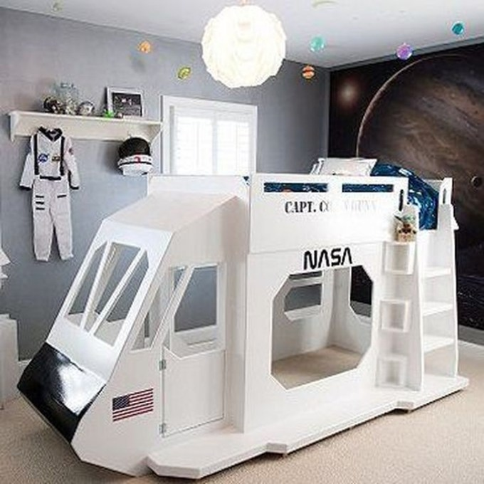 Cheap Space Saving Design Ideas For Kids Rooms 23